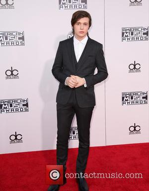 Nick Robinson - Celebrities attend 2015 American Music Awards at Microsoft Theater. at Microsoft Theater, American Music Awards - Los...