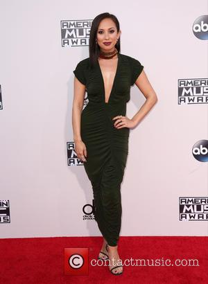 Cheryl Burke - Celebrities attend 2015 American Music Awards at Microsoft Theater. at Microsoft Theater, American Music Awards - Los...
