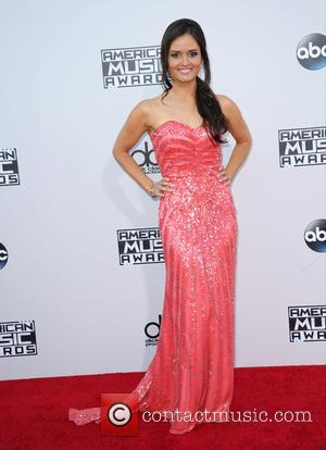Danica McKellar - Celebrities attend 2015 American Music Awards at Microsoft Theater. at Microsoft Theater, American Music Awards - Los...