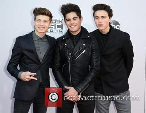 Ricky Garcia, Emery Kelly, Liam Attridge and Forever In Your Mind