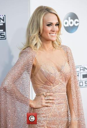 Carrie Underwood - Celebrities attend 2015 American Music Awards at Microsoft Theater. at Microsoft Theater, American Music Awards - Los...