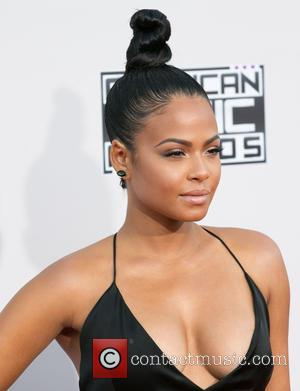 Christina Milian - Celebrities attend 2015 American Music Awards at Microsoft Theater. at Microsoft Theater, American Music Awards - Los...