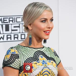 Julianne Hough - Celebrities attend 2015 American Music Awards at Microsoft Theater. at Microsoft Theater, American Music Awards - Los...