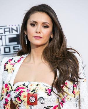 Nina Dobrev - Celebrities attend 2015 American Music Awards at Microsoft Theater. at Microsoft Theater, American Music Awards - Los...