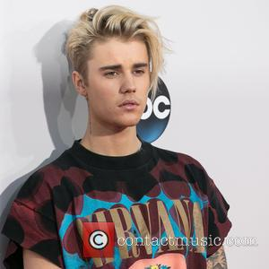 Justin Bieber - Celebrities attend 2015 American Music Awards at Microsoft Theater. at Microsoft Theater, American Music Awards - Los...