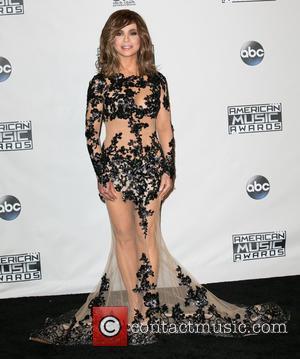 Paula Abdul - Celebrities attend 2015 American Music Awards at Microsoft Theater. at Microsoft Theater, American Music Awards - Los...