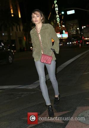 Natalie Gal - Celebrities at Katsuya Restaurant in Hollywood at Hollywood - Los Angeles, California, United States - Sunday 22nd...
