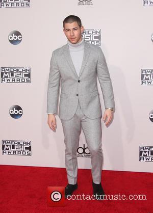 Nick Jonas - The 2015 American Music Awards (AMAs) - Arrivals at Microsoft Theater, American Music Awards - Los Angeles,...