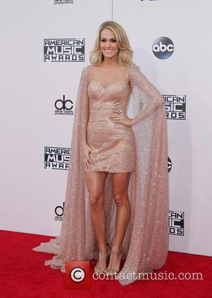 Carrie Underwood - The 2015 American Music Awards (AMAs) - Arrivals at Microsoft Theater, American Music Awards - Los Angeles,...