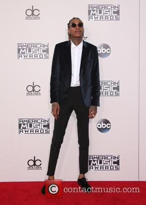 Wiz Khalifa - The 2015 American Music Awards (AMAs) - Arrivals at Microsoft Theater, American Music Awards - Los Angeles,...
