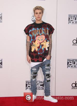 Justin Bieber - The 2015 American Music Awards (AMAs) - Arrivals at Microsoft Theater, American Music Awards - Los Angeles,...