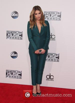 Ashley Benson - 2015 American Music Awards (AMAs) - Arrivals at Microsoft Theater, American Music Awards - Los Angeles, California,...