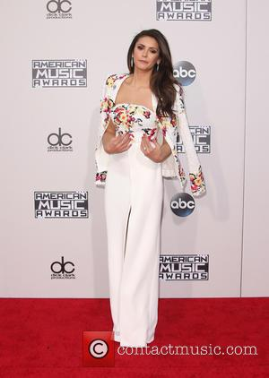 Nina Dobrev - 2015 American Music Awards (AMAs) - Arrivals at Microsoft Theater, American Music Awards - Los Angeles, California,...
