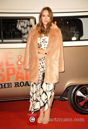 Tanya Burr - Premiere of 'Joe & Caspar Hit The Road' held at Empire Leicester Square - Arrivals at Empire...