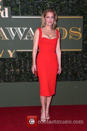 Gillian Anderson - London Evening Standard Theatre Awards held at The Old Vic - Arrivals - London, United Kingdom -...