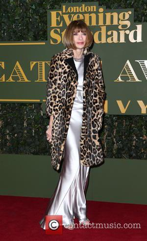 Anna Wintour - London Evening Standard Theatre Awards held at The Old Vic - Arrivals - London, United Kingdom -...