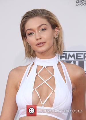 Gigi Hadid - American Music Awards 2015 (AMA's) - Arrivals at Microsoft Theater, American Music Awards - Los Angeles, California,...