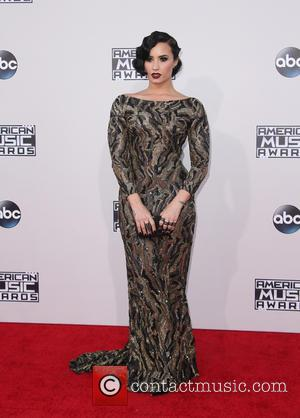 Demi Lovato - American Music Awards 2015 (AMA's) - Arrivals at Microsoft Theater, American Music Awards - Los Angeles, California,...