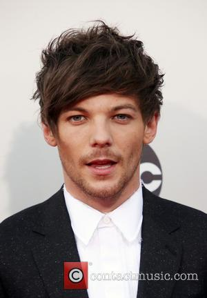 Louis Tomlinson - American Music Awards 2015 (AMA's) - Arrivals at Microsoft Theater, American Music Awards - Los Angeles, California,...