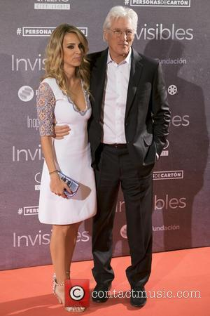 Richard Gere , Alejandra Silva - Charity premiere of documentary film 'Invisibles' (Time Out of Mind) at the Callao City...
