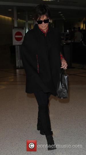 Kris Jenner - Kris Jenner arrives at Los Angeles International Airport - Los Angeles, California, United States - Monday 23rd...