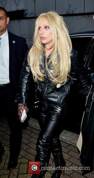 Lady Gaga - Lady Gaga arrives at a studio in North London - London, United Kingdom - Monday 23rd November...