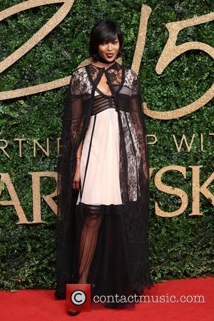 Naomi Campbell - The British Fashion Awards 2015 - Arrivals at The British Fashion Awards - London, United Kingdom -...