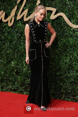 Rita Ora - The British Fashion Awards 2015 - Arrivals at The British Fashion Awards - London, United Kingdom -...
