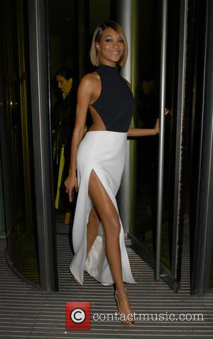 Jourdan Dunn - The British Fashion Awards 2015 at London Coliseum - Departures at The British Fashion Awards - London,...