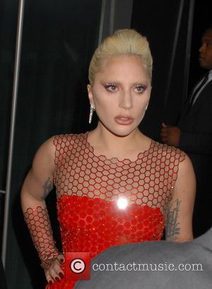 Lady Gaga - The British Fashion Awards 2015 at London Coliseum - Departures at The British Fashion Awards - London,...