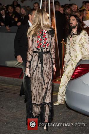 Georgia May Jagger , Alessandro Michele - British Fashion Awards held at the Coliseum - outside arrivals. at British Fashion...