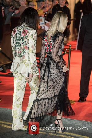 Georgia May Jagger and Alessandro Michele