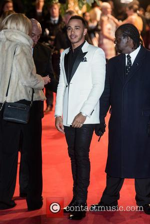 Lewis Hamilton - British Fashion Awards held at the Coliseum - outside arrivals. at British Fashion Awards - London, United...