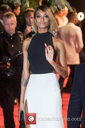 Jourdan Dunn - British Fashion Awards held at the Coliseum - outside arrivals. at British Fashion Awards - London, United...