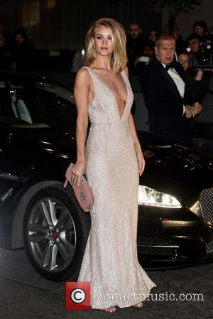 Rosie Huntington Whiteley - British Fashion Awards held at the Coliseum - outside arrivals. at British Fashion Awards - London,...