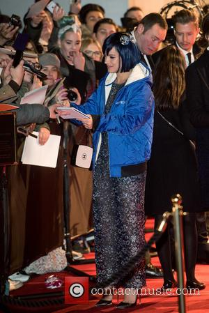 Lily Allen - British Fashion Awards held at the Coliseum - outside arrivals. at British Fashion Awards - London, United...