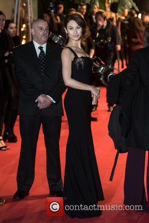 Olga Kurylenko - British Fashion Awards held at the Coliseum - outside arrivals. at British Fashion Awards - London, United...