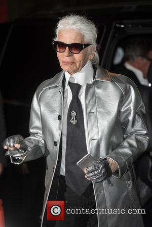 Karl Lagerfeld - British Fashion Awards held at the Coliseum - outside arrivals. at British Fashion Awards - London, United...