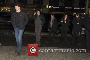 Matt Damon, Luciana Barroso and Alexia Barroso