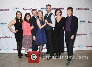 cast , creative team - Opening night party for Night Is a Room at the Pershing Square Signature Center -...