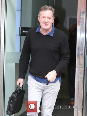 Piers Morgan - Piers Morgan outside ITV Studios - London, United Kingdom - Monday 23rd November 2015