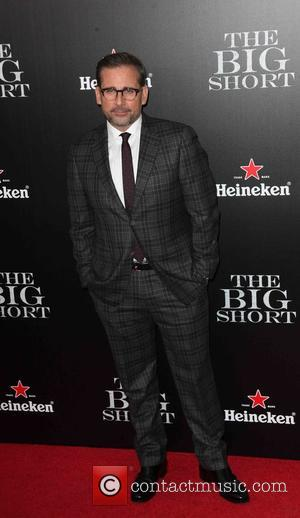Steve Carell - New York premiere of 'The Big Short' at The Ziegfeld Theatre - Red Carpet Arrivals at Ziegfeld...