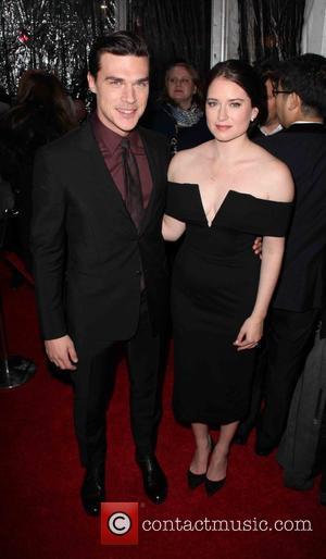 Finn Wittrock , Sarah Roberts - New York premiere of 'The Big Short' at The Ziegfeld Theatre - Red Carpet...