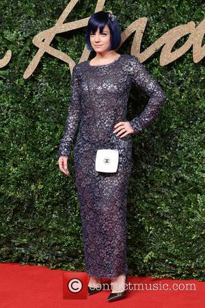 Lily Allen - The British Fashion Awards 2015 - Arrivals at The British Fashion Awards - London, United Kingdom -...