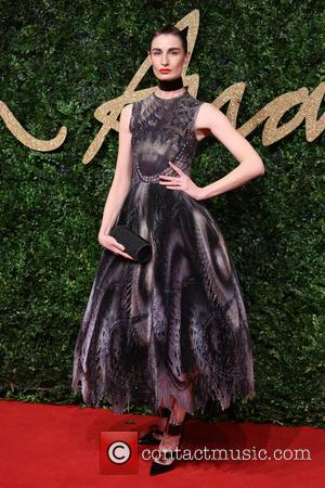 Erin O'Connor - The British Fashion Awards 2015 - Arrivals at The British Fashion Awards - London, United Kingdom -...