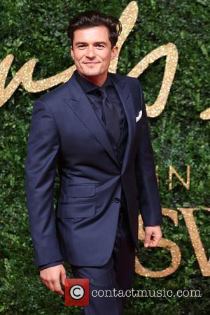 Orlando Bloom - The British Fashion Awards 2015 - Arrivals at The British Fashion Awards - London, United Kingdom -...