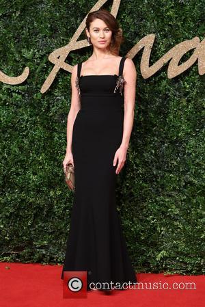 Olga Kurylenko - The British Fashion Awards 2015 - Arrivals at The British Fashion Awards - London, United Kingdom -...