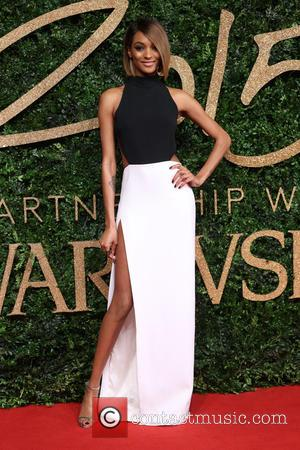 Jourdan Dunn - The British Fashion Awards 2015 - Arrivals at The British Fashion Awards - London, United Kingdom -...