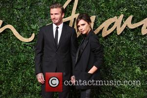 David Beckham , Victoria Beckham - The British Fashion Awards 2015 - Arrivals at The British Fashion Awards - London,...