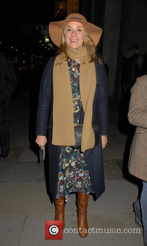 Tamzin Outhwaite - The Homecoming Gala Night at the Trafalgar Studios  - Departures - London, United Kingdom - Monday...